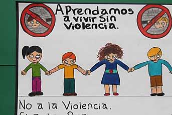 Niños de kínder y primaria plasmaron en dibujos su visión contra el ...