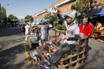 Comerciantes establecidos del Mercado San Juan de Dios salieron