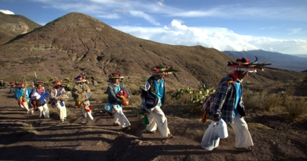 Pilgrimage of Native Wixaricas to Wirikuta