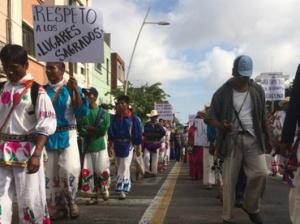 protesta huichol-Omar García